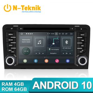 Isudar PX6 2 Din Android 10 Car Multimedia Player GPS DVD For Audi A3 8P 3-Door Hatchback/S3/RS3 Sportback Auto Stereo Radio FM