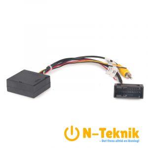 Erisin ES076 RGB To RCA/AV Converter Decoder Box Adapter for VW Original OEM Reverse Camera Rear View Cam 26Pin